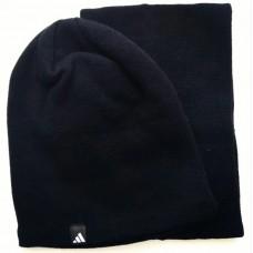 Комплект шапка и горловик унисекс