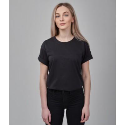 Женская футболка оверсайз Fruit of the loom