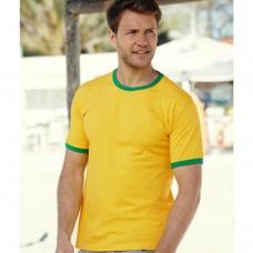 Мужская футболка с манжетами