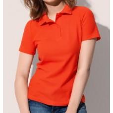 Женская футболка поло классическая