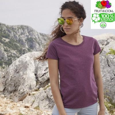 Женская футболка классическая Fruit of the loom