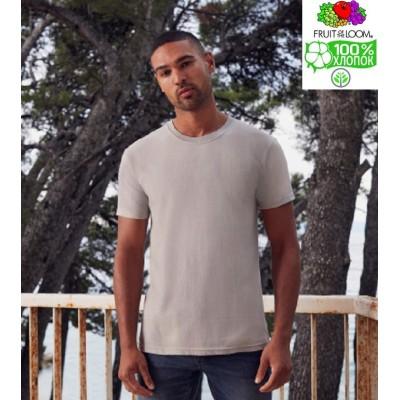 Мужская футболка плотная хлопок Fruit of the loom