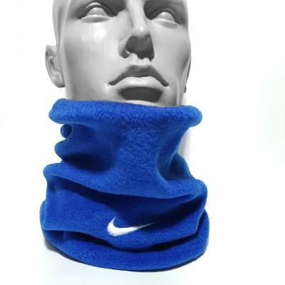 Бафф Nike зимний флисовый синий