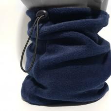 Бафф Nike зимний флисовый темно синий