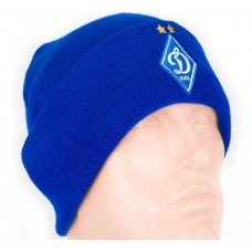Шапка Динамо двойная синяя