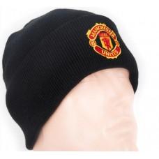 Шапка Манчестер Юнайтед двойная черная