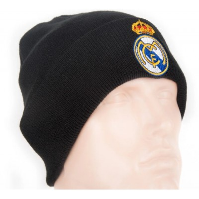 Шапка Реал Мадрид двойная черная
